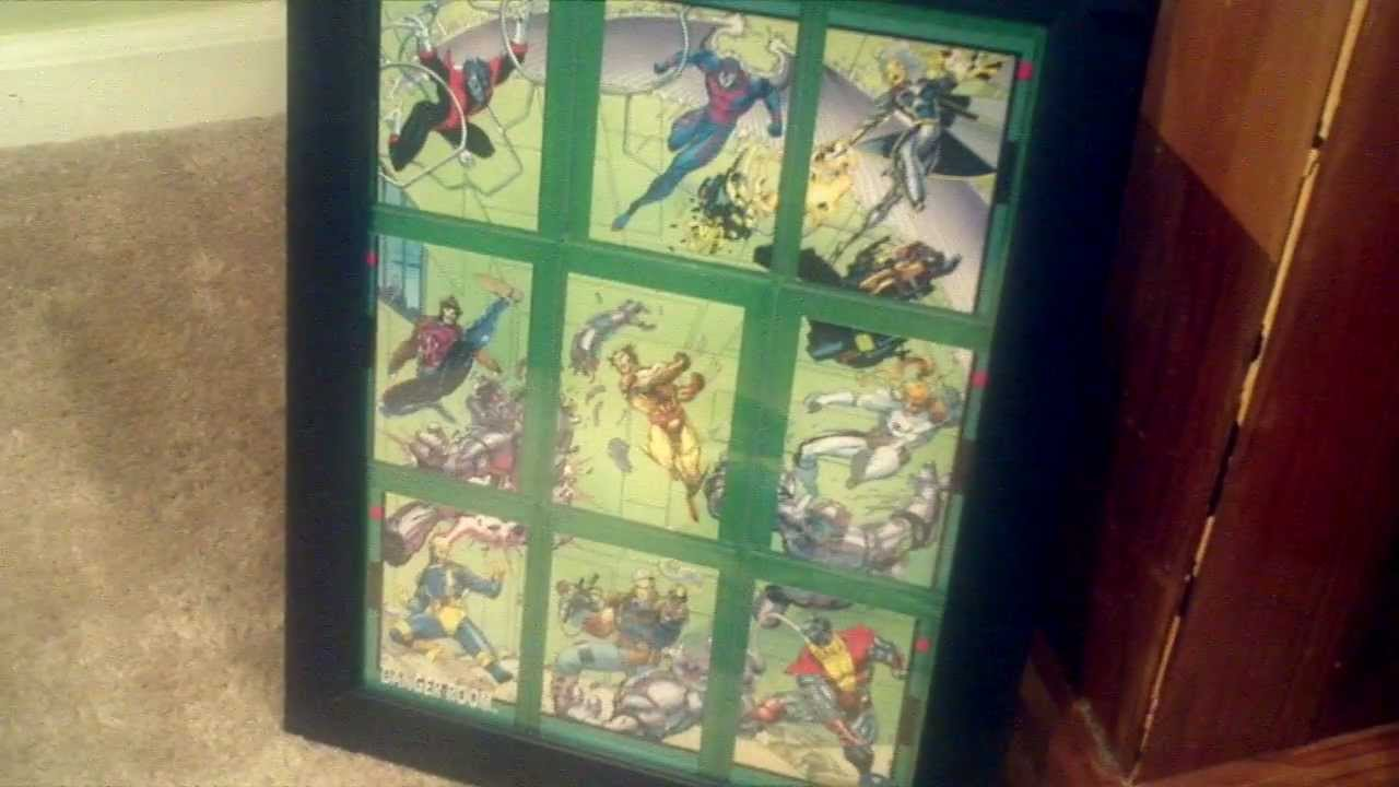 How to Frame your Trading Cards in a Display  YouTube