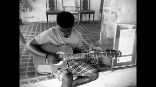 Guitar cover of BAD , a song by Tiwasavage ft Wizkid  ( guitar cover by B Cruz)