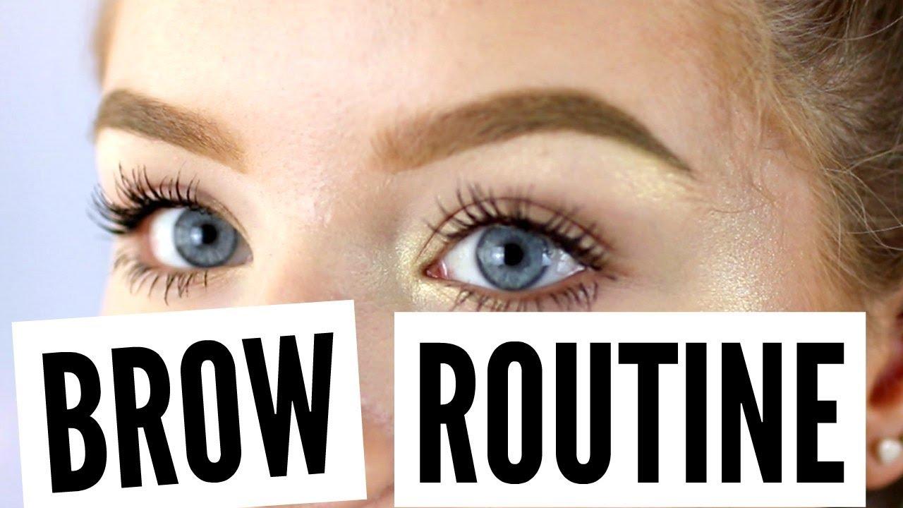 Eyebrow Routine Using Brow Pomade Youtube