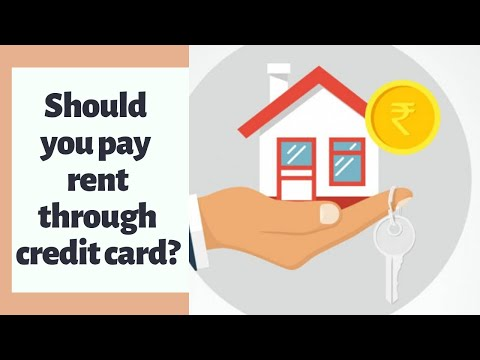 Should you pay rent through credit card?