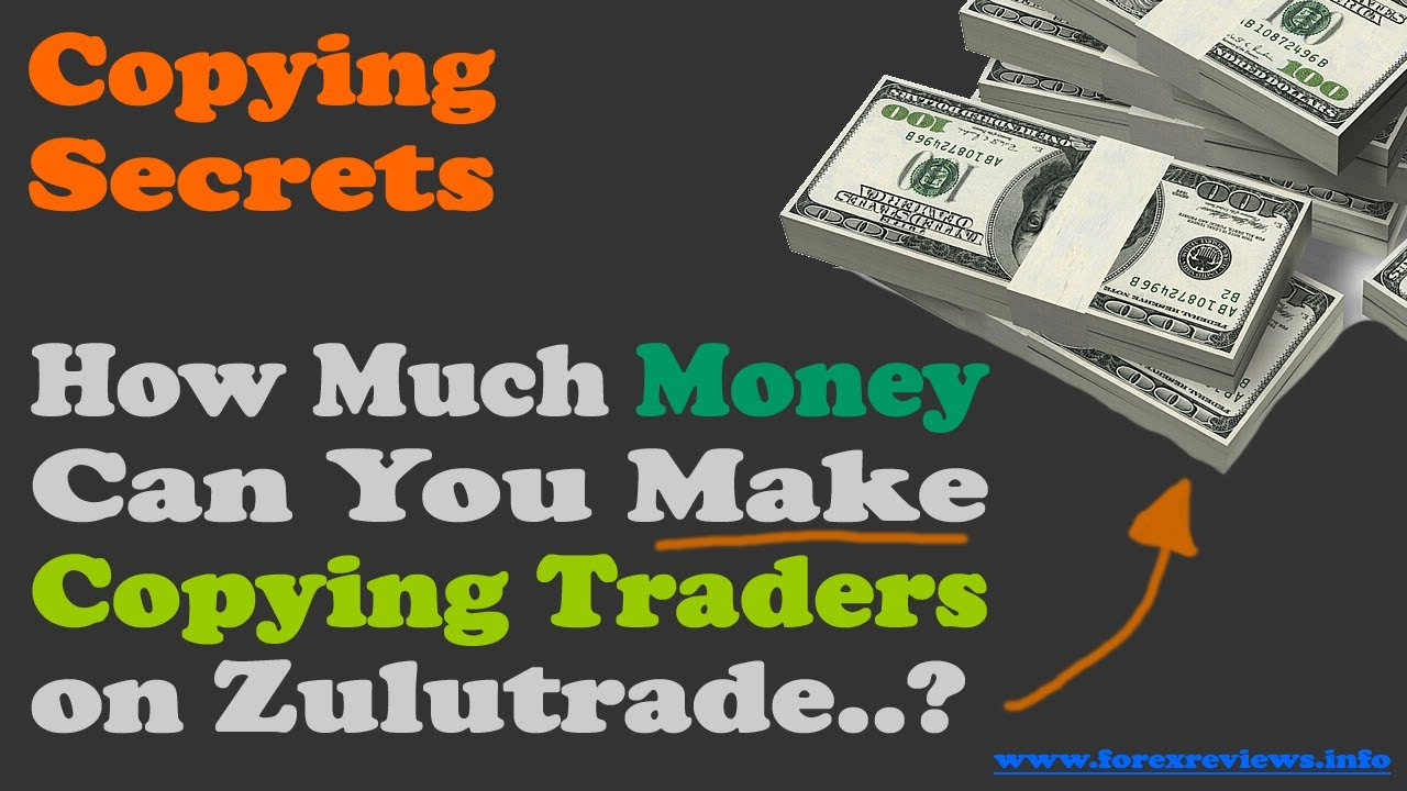 How much you earn from forex trading