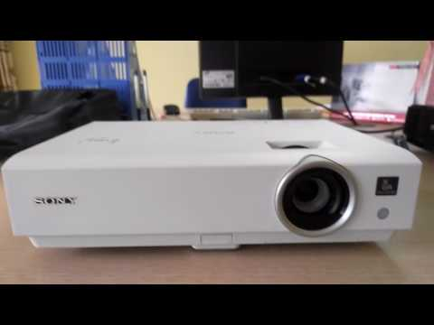 Repair and fix error sony vpl-dx122 Projector report lamp cover