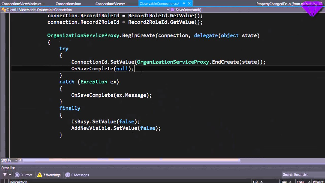 Speed Coding a Dynamics CRM 2015 HTML Webresource using SparkleXRM (in ~5  minutes)