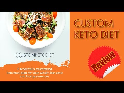 Tutorial Youtube Custom Keto Diet