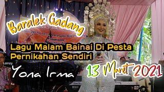 Viralll !! Yona Irma Membawakan Lagu Malam Bainai Di Hari Pesta Pernikahanya - Jendral Live Music