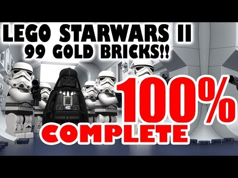 lego star wars 2 100% complete 99 gold bricks - youtube