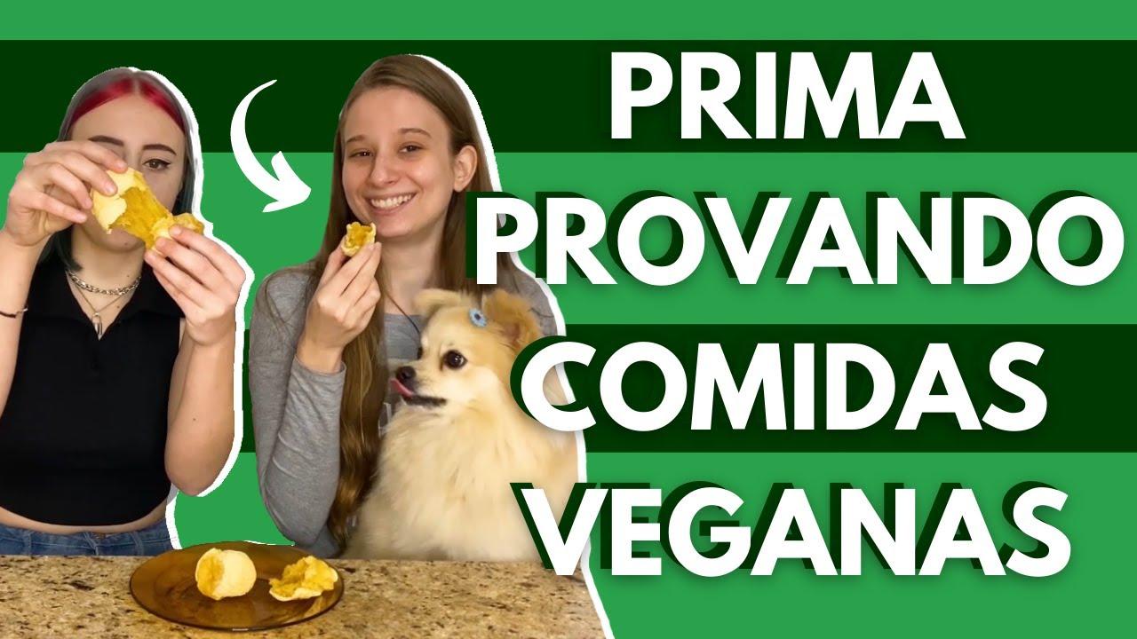 Pessoa Não Vegana provando Comidas Veganas