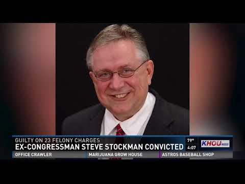 Ex-congressman Steve Stockman convicted