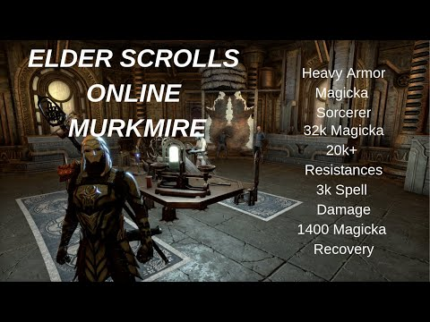 Heavy Sorcerer Armor Eso With