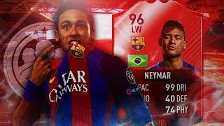 FIFA 17: 96 IF NEYMAR SQUAD BUILDER BATTLE 🔥 [DEUTSCH]