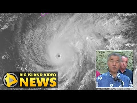 Hurricane Lane: Governor Holds Press Conference (Aug. 21, 2018)