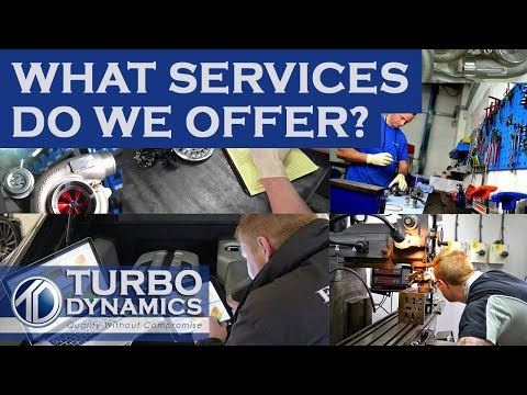 What Services Do We Offer? | Turbo Dynamics