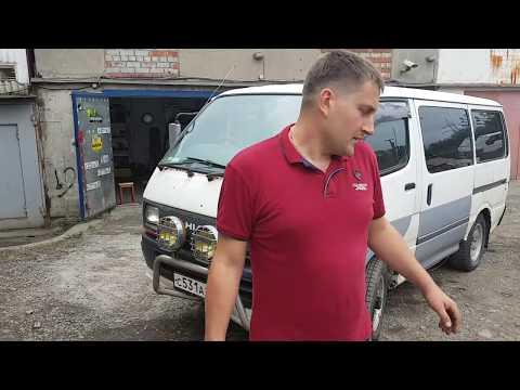 Понтарезка по Владивостотски, жёсткий ремонт начался, Toyota Haice 3L Часть 2