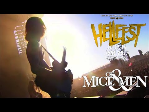 Back To Me - Of Mice & Men (Hellfest Festival) HD