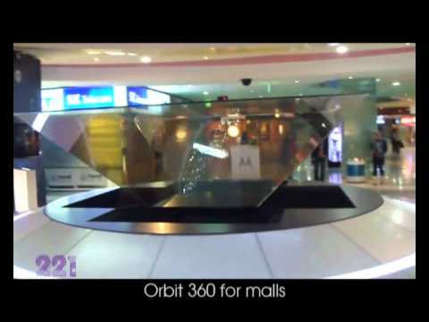 221 Hologram & projection mapping. 221 Marketing Communication & Publicity