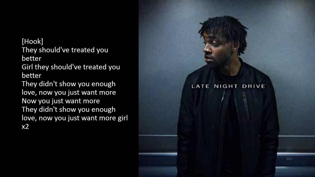Yo Trane - Late Night Drive [Lyric Video]