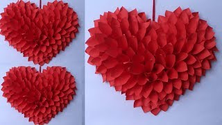 WOW !! Amazing Heart Wall Hanging || Best Out of Waste Idea 2019 || Handmade Things || A Art
