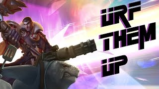 URF Them Up with Jayce - When your sniper rifle goes full auto (Ultra Rapid Fire Mode)