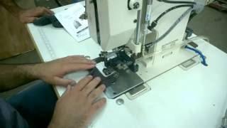 AL-1601 Закрепочная машина для носков(Специальная швейная машина для пришивания (закрепления) этикеток на носки. Отличается тем, что после шитья..., 2015-08-04T07:02:59.000Z)