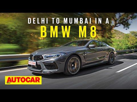Delhi to Mumbai in a 600hp BMW M8!   Road Trip Vlog   Autocar India
