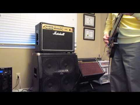 Taking my Marshall JVM 205c for a spin