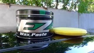 Карнаубский воск. Защитная полироль авто Auto Magic EZ 15 Wax paste yellow.