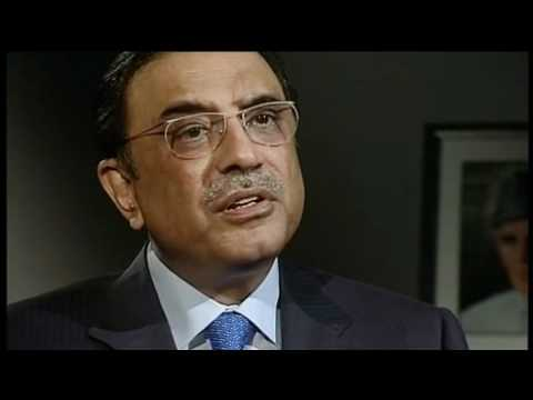 Asif Zardari Newsnight Interview