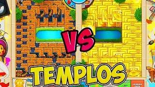 NO CABEN MAS TEMPLOS! | BLOONS TD BATTLES