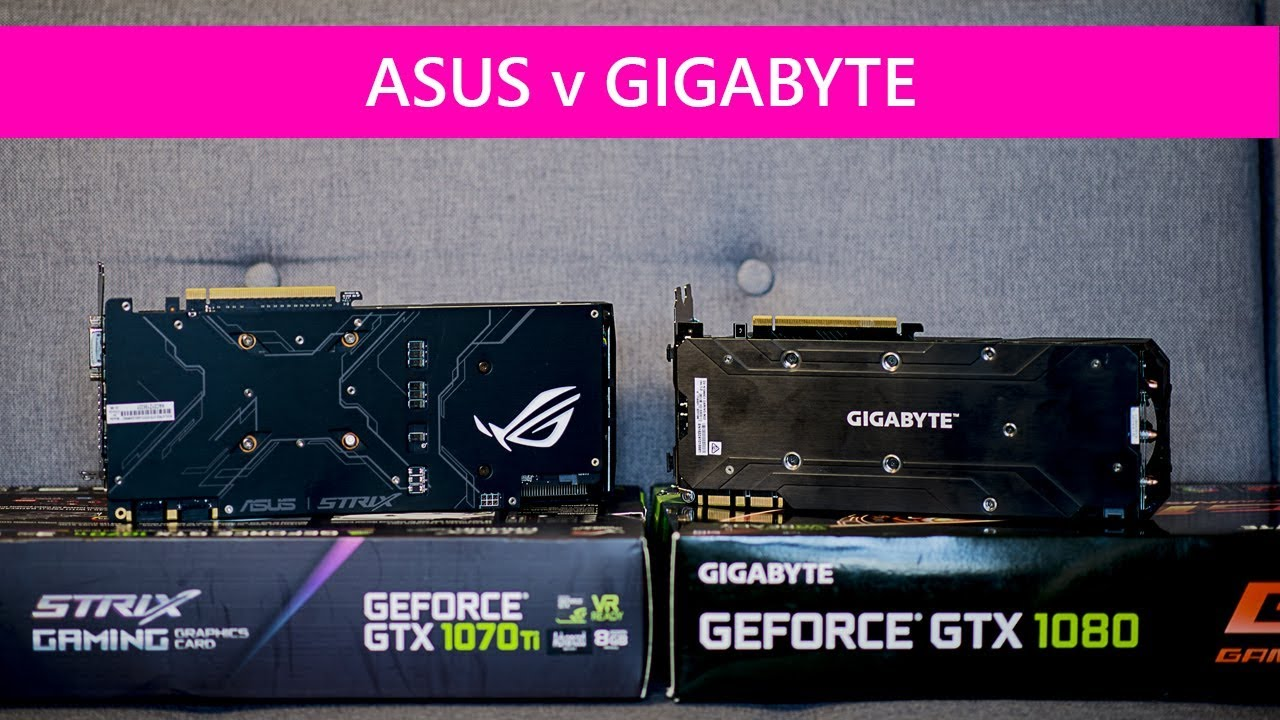 ASUS ROG 1070 Ti Strix Vs Gigabyte 1080 G1 Gaming OC Which one is faster