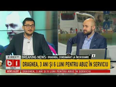 BREAKING NEWS: LIVIU DRAGNEA, CONDAMNAT LA 3 ANI SI 6 LUNI CU EXCECUTARE