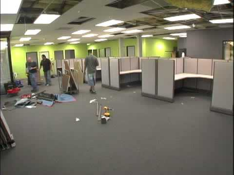 Office Furniture Installation In San Diego Youtube