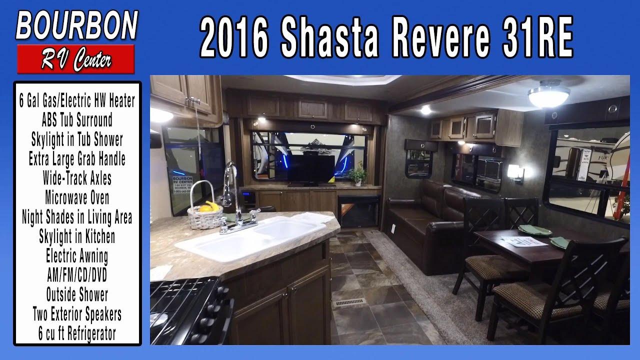 2016 Shasta Revere 31RE Travel Trailer