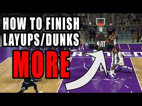 How to Make Layups/Dunks More in NBA 2K20