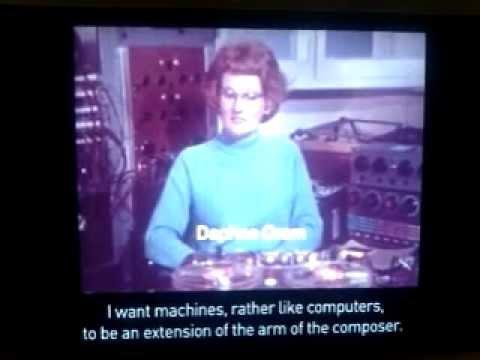 """Daphne Oram """"The Same Trade As Mozart"""" BBC2 - 3/8/69"""
