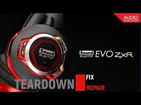 Teardown Creative Sound Blaster EVO ZxR