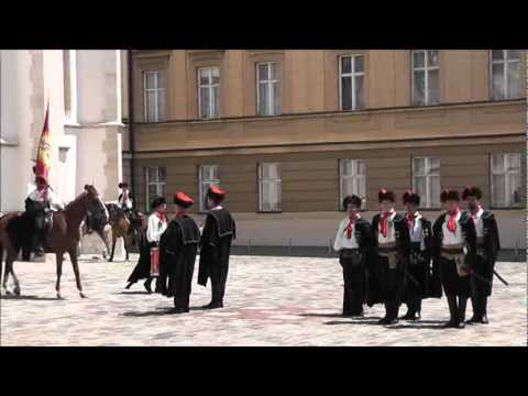 Zagreb,Croatia -The Changing of the Guard
