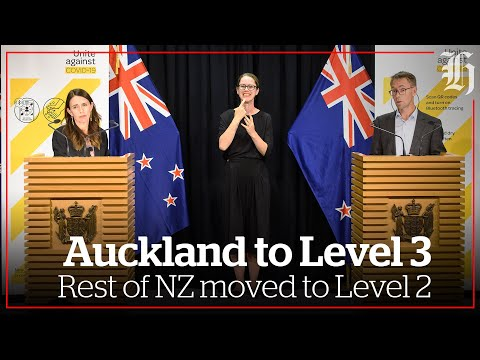 Auckland shifted to Alert Level 3, rest of NZ to level 2 | nzherald.co.nz