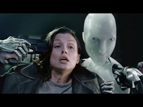 """Я подставлю ее голову под вашу пулю! - """"Я робот"""" отрывок из фильма"""