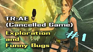 🎮#1 Tomb Raider: 10th Anniversary Edition (Cancelled Game) Exploration and Funny Bugs - PERU