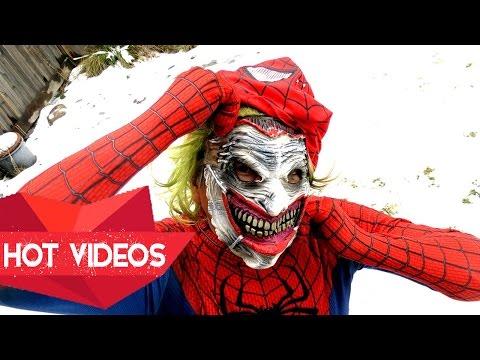 [Hot Videos] SPIDERMAN VS ZOMBIE JOKER VS VENOM VS IRONMAN Superhero In Real Life