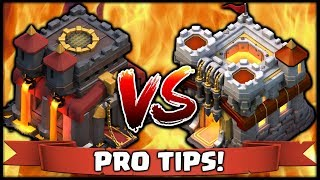 TH10 vs TH11 PRO TIPS & ATTACK STRATEGY! Clash of Clans Dragon and Bowler Attacks with Bilbo Dragons