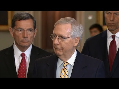McConnell reaffirms alliance with Europe as lawmakers slam Helsinki press conference