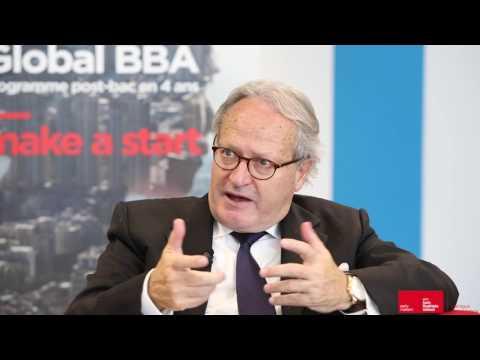 Interview de Bernard Belletante, Directeur Général d'emlyon business school