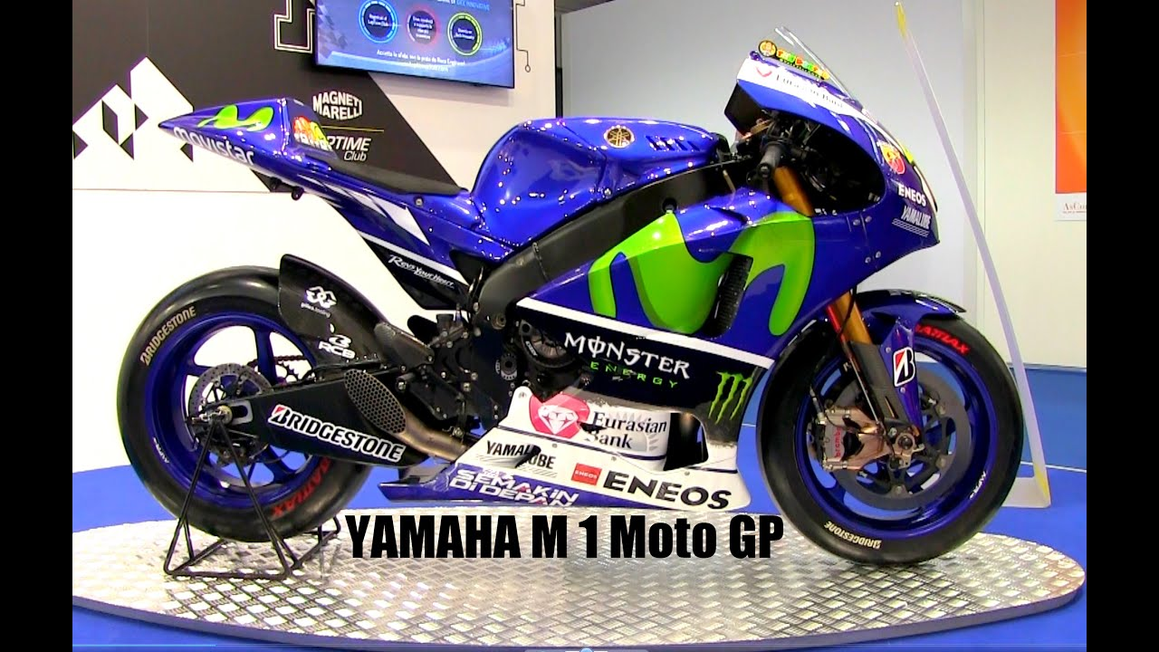 Yamaha YZR-M1 MotoGP Valentino Rossi (VIDEO BEST 4K) - YouTube
