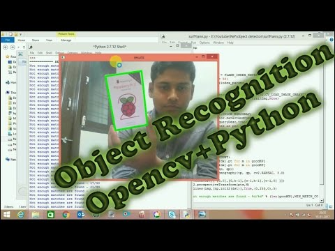 Object Recognition In Any Background Using OpenCV Python
