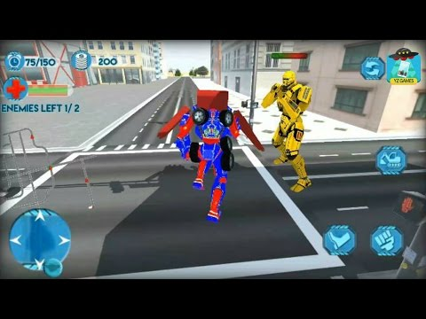 Thumbnail: Excavator Transformer Robot - Android GamePlay HD