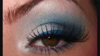 *Indianapolis Colts Inspired Makeup*