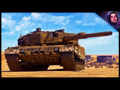 GeRmAnY sUfFeRs || Leopard 2a4 (War Thunder Tank Gameplay)