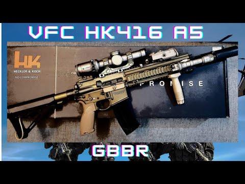 My VFC HK416 A5 GBBR Build...enjoy