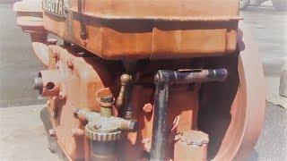 発動機の音!!発動機超初心者必見!!これがクボタオートディーゼルKND3型エンジン・ピンク色はオリジナル色 thumbnail